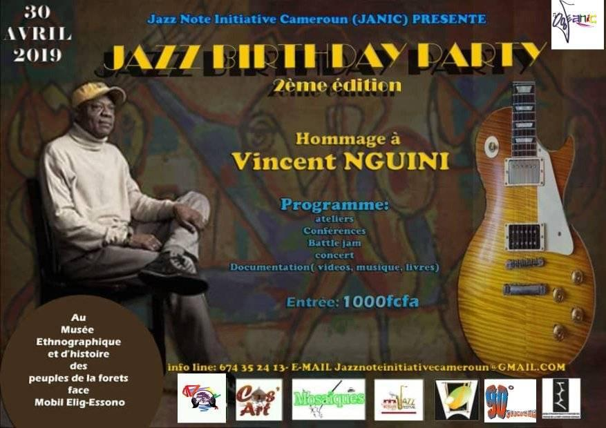 Jazz Birthday Party
