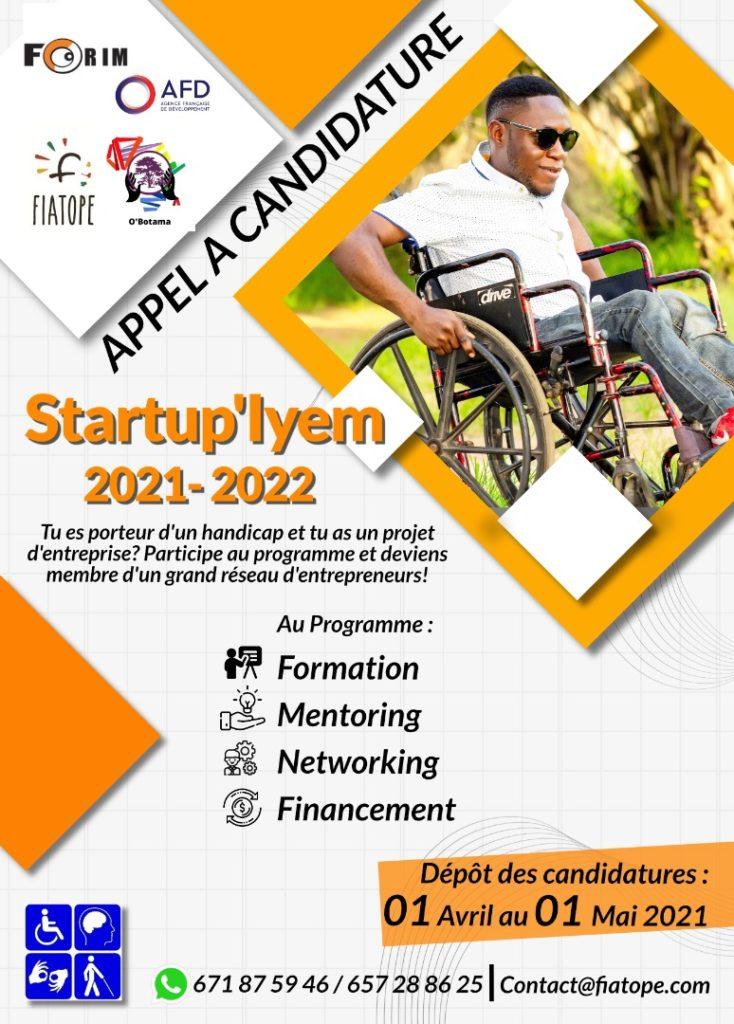 Startup'Iyem, le programme de formation à l'entrepreneuriat pour les personnes en situation de handicap